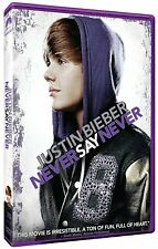 Justin Bieber: Never Say Never (DVD, 2011) MOVIE John Chu