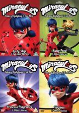 Miraculous Tales of Ladybug and Cat Noir Volume 1 2 3 4 Region 4 DVD (4 Discs)