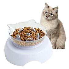 Orthopedic Cat Bowl & Slow Feeder 2-in-1 [Anti-Vomiting]