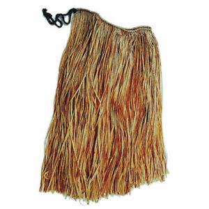 Bastrock aus echtem Bast, ca. 70 cm lang, ideal für Hawaii- und Hulakostüme