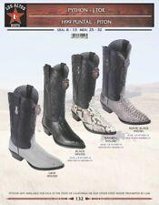 Los Altos Men's Python J Toe Western Boots