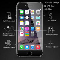 Apple iPhone 6s Transparent Full Coverage Tempered Glass Screen Protector