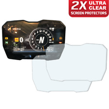 2 x Ducati Panigale V4 2018+ Dashboard Screen Protector: Ultra-Clear