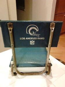 Vintage NFL Los Angeles Rams Stadium Foldable Chair