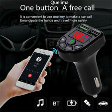 Blueteeth Car Kit MP3 Player FM Transmitter Wireless Radio Adapter USB Charger