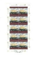 MAD124) Australia 1998 Australia '99 Maritime Heritage Sheetlet CTO/Used