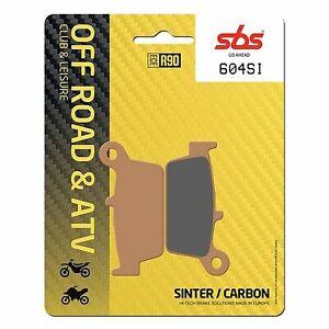 TM SMR 530 F 03 > ON SBS Rear Off Road Sinter Brake Pads EO QUALITY 604SI