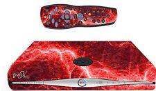RED ELECTRIC Adesivo / PELLE SKY HD BOX & Remote Controller / Controll ADESIVI sk35