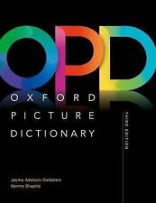 Oxford Picture Dictionary 3e Monolingual Dictionary by Jayme, Shapiro (Colored)