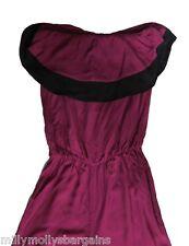 New Womens Black & Purple NEXT Jumpsuit Size 12 RRP £45 DEFECT