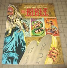 THE BIBLE C-36 DC Collector's Ed. (July 1979) VG/FN Condition Large Format Comic