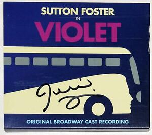 Jeanine Tesori Signed VIOLET Cast Recording CD