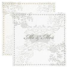 Servietten Mr. und Mrs.16 Stk Papierservietten Lunchservietten Hochzeit Geburtag