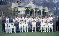 CRICKET OLD PHOTO 1963 LC Steven's XI v West Indies