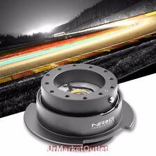 NRG Gunmetal GEN 2.5 Race Steering Wheel Quick Release Adapter 6-Hole Design