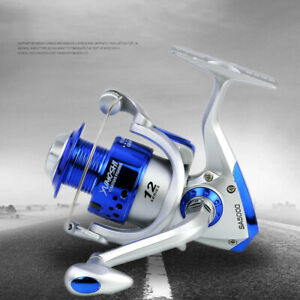Gear Ratio 5.5:1 Left / Right Handed Freshwater Fishing Spinning Reel 1000-7000