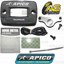 Apico Hour Meter Tachmeter Tach RPM With Bracket For Kawasaki KX 60 1986-2002