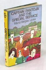 Mario Vargas Llosa Signed 1st Ed 1978 Captain Pantoja And The Special Service