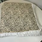 The+company+store+quilt+bedspread+coverlet+cheetah+print+ruffled+edge+full+