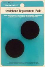 "Foam Earphone Headphone Replacement Pads Earpads 5/8"" x 1-1/2"" RadioShack"