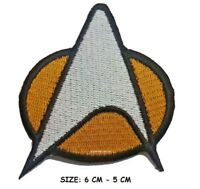 STAR TREK The Next Generation PATCH - Embroidered, Iron-On Crew Comm Badge