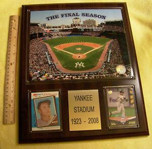 "Yankee Stadium ""The Final Season"" Large 12"" x 15"" Plaque"
