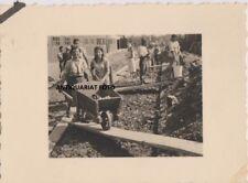 VINTAGE FOTO  JUDEN RUSSLAND 1941 ARBEITSLAGER  BEVÖLKERUNG  2