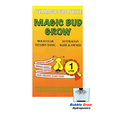 MAGIC BUD GROW 1L ORGANIC HYDROPONIC NUTRIENTS OZI MAGIC GROWING NUTRIENT
