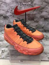 "Nike Air Jordan 9 IX Retro Low ""Bright Mango 832822-805 Size 13 Miami Chicago XI"