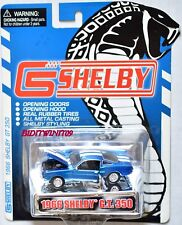 SHELBY COLLECTIBLES 1966 SHELBY G.T.350 BLUE W+