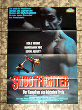 SHOOTFIGHTER * Bolo Yeung - A1-VIDEO-POSTER German 1-Sheet ´93