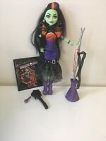 Mattel Monster High Casta Fierce Doll with Microphone Complete EUC