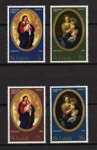 15511) St.Lucia 1968 MNH New Christmas - Natale