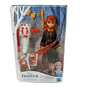 Disney Frozen 2 II Sister Fashion Doll Anna Styles Braiding Tool and Hair Clip