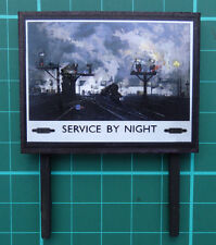 Advertising Hoarding (Service By Night)