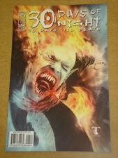 THIRTY 30 DAYS OF NIGHT 30 DAYS TIL DEATH #4 RI COVER 2009 IDW BEN TEMPLESMITH