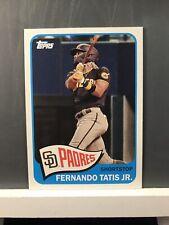 2021 Topps Series 2 Fernando Tatis Jr Padres T65-41