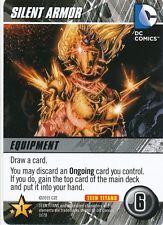 SILENT ARMOR WONDER GIRL DC Comics Deck Building Game TEEN TITANS card