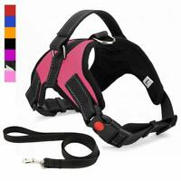 No Pull Freedom Dog Harness & Leash Set for Small/Medium/Large/XL Pitbull Lab