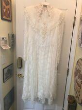 Vintage Jessica McClintock wedding dress Nos W/tags Sz 15/16