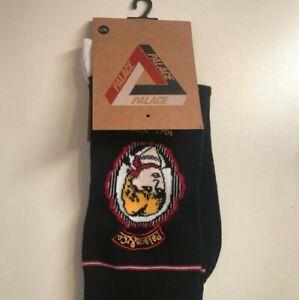 New AW17 Palace POW Socks black size L/XL Lady Diana large / XL