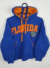 Vintage Rétro Américain Imprimé Florida Gators Baseball Overhead Sweat UK S