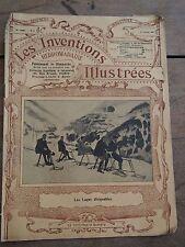 Les inventions illustrées N°4 - Janvier 1912 - Les luges dirigeables