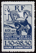 French Colonies Scott B1 (1943) Mint VLH VF