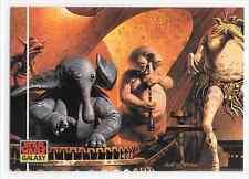 1993 Topps Star Wars Galaxy Series 1 The Max Rebo Band Design Of Base Card #43