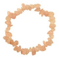 GEMSTONE BRACELETS Crystal Chip Stretch Gift Bead Reiki Healing