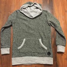 Converse All-star Cowl Neck Sweater Sweatshirt Hoodie Heather Gray