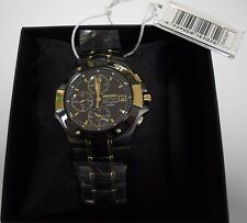 New SEIKO COUTURA SNAE34P1 (7T62-0FA0) Mens Alarm Chronograph Watch