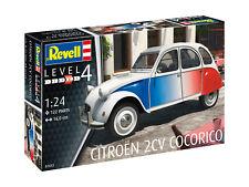 Revell 1:24 07653 Citroën 2 CV Cocorico  NEU OVP