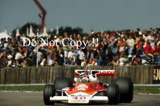 GILLES Villeneuve McLaren m23 di British Grand Prix 1977 fotografia 4